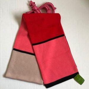 Kate Spade Mondrian Colorblock Scarf